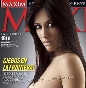 Jesica Hereñu, Celeste Muriega, las chicas de Pasion de sabado: Maxim