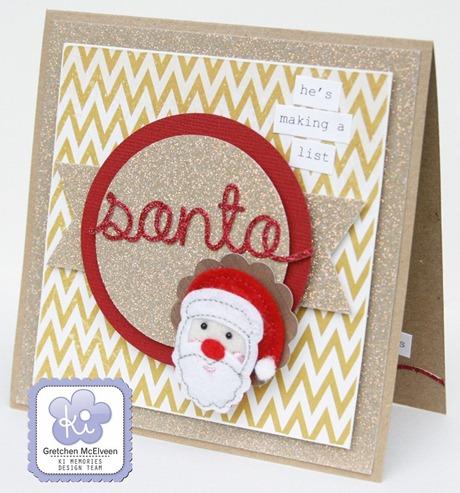 Gretchen McElveen_Santa card