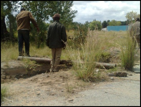WELKOM c LOOTED STRIPPED OF EVERYTHING VALUABLE BY ILLEGAL GOLD MINERS