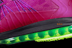 nike lebron 10 low gr purple neon green 1 02 Release Reminder: NIKE LEBRON X LOW Raspberry (579765 601)