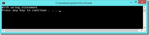 using-statement-static-class-csharp6