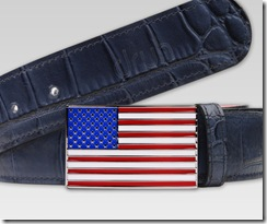 Druh USA Flag Buckle with Black Strap