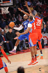 lebron james nba 130217 all star houston 33 game 2013 NBA All Star: LeBron Sets 3 pointer Mark, but West Wins