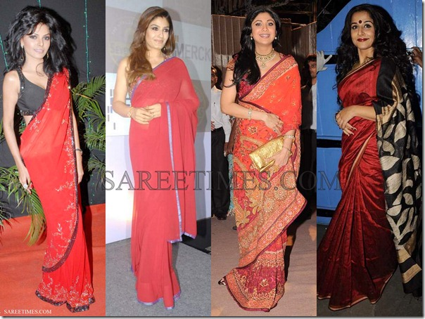 Bollywood_Red_Sarees_2012 (2)