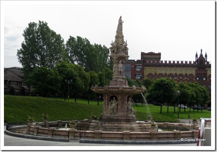 Doulton Fountain Glasgow.