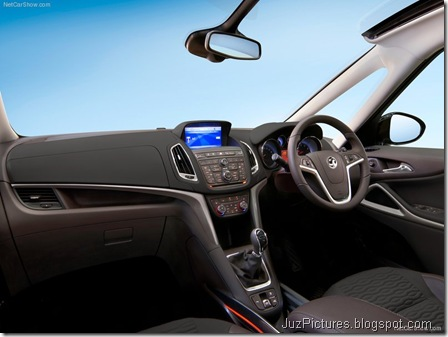 Vauxhall Zafira Tourer5