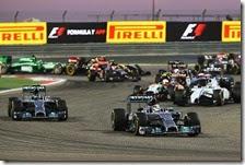 Hamilton vince il gran premio del Bahrain 2014
