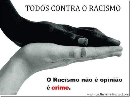 face sérios racismo