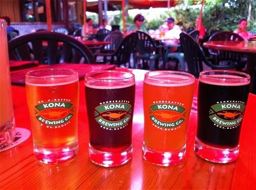ハワイ島のコナビール