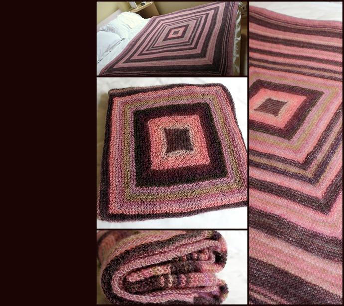 Garter blanket
