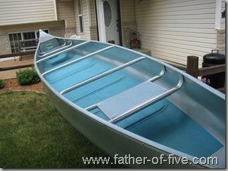 Osagian 17' aluminum canoe