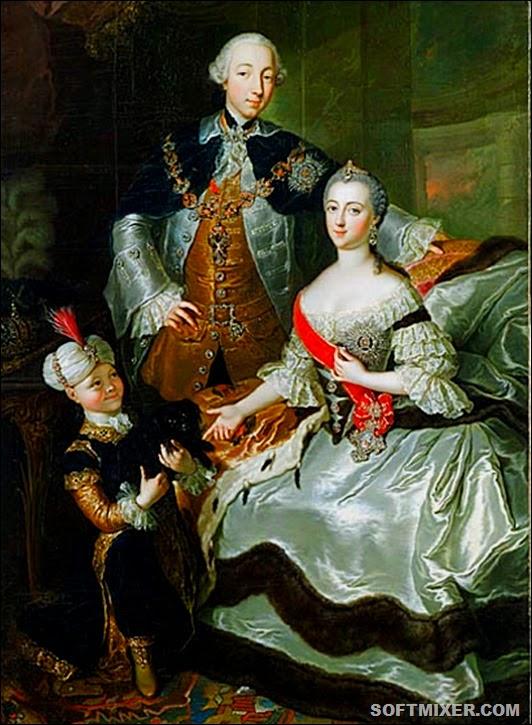 Anna_Rosina_de_Gasc,_Le_grand-duc_Pierre_Fiodorovitch,_la_grande-duchesse_Catherine_Alexeïevna_et_un_page_(1756)(2)