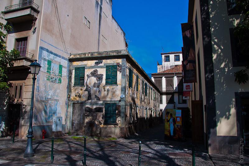 1. Фотопрогулка по улицам города. Улочки. Фуншал. Мадейра. Португалия. Круиз на Costa Concordia.