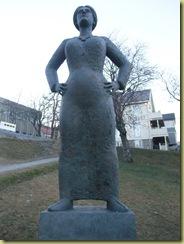 Sandnessjoen Statue-4