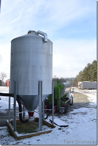 Froling P4 Silo Filling 5