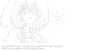 [AA]Misaki Mei Heart (Another)