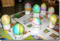 Painted Easter Eggs from Afterschool for Smarty Pants