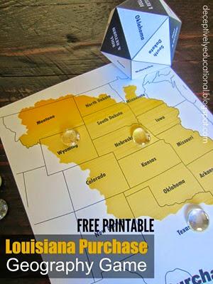 Louisiana Purchase Game