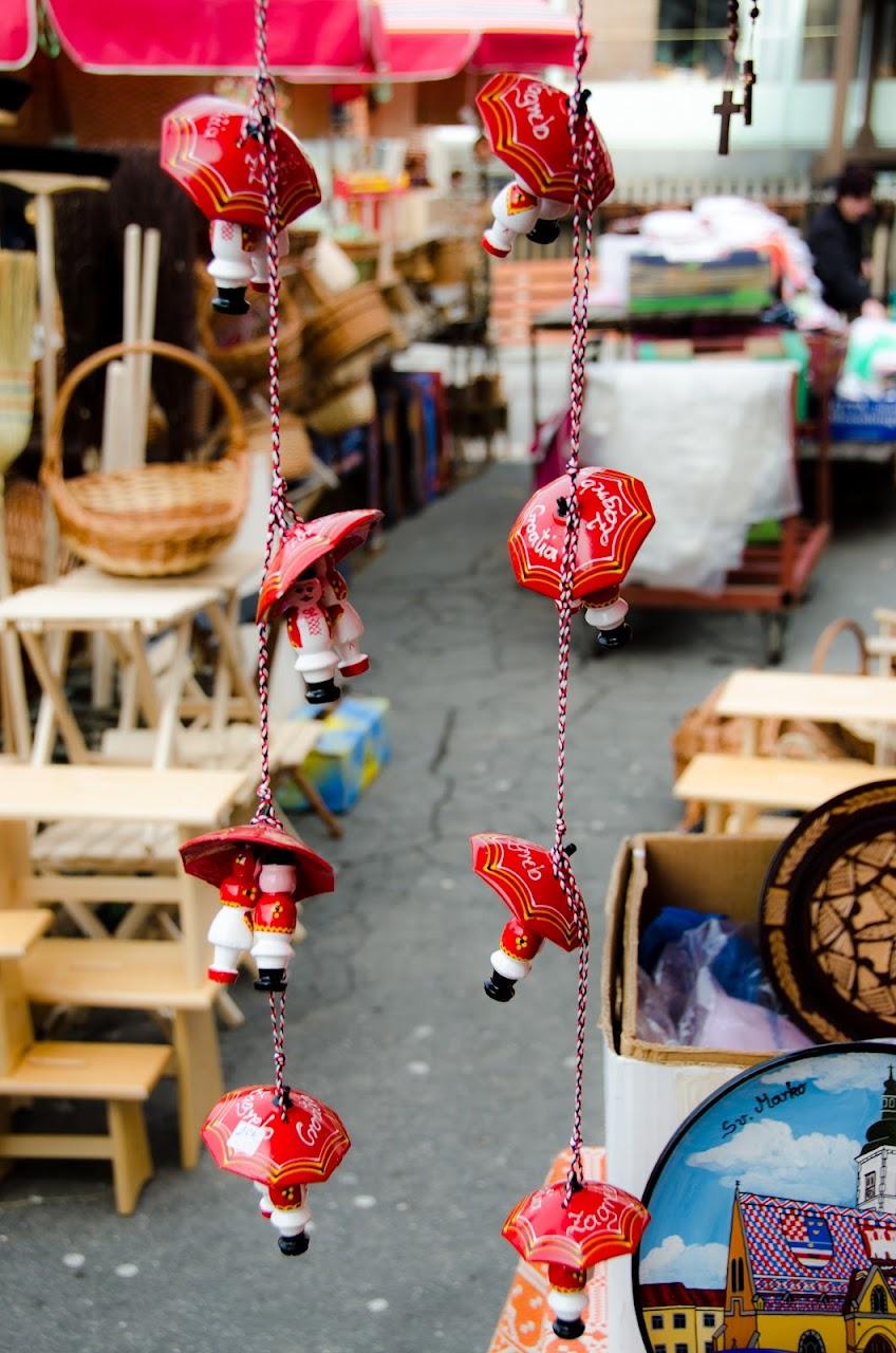 Trinkets at Zagreb market