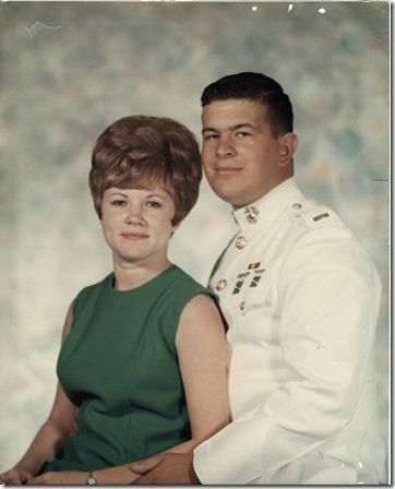 May 25 1968 at Camp Lejeune NC