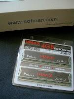 UMAXメモリ4GB