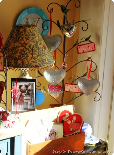 Vintage Valentine Display 6