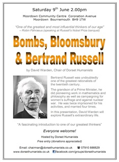 Betrand Russell Poster