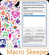SKeeper Macro CorelDraw-Blogger