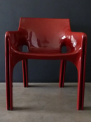 Gaudi armchair, red