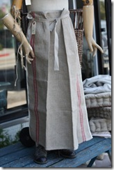 rustic apron