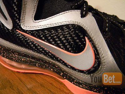 nike lebron 9 gr silver black orange 2 02 New Pics: Upcoming Nike LeBron 9 Mango Slated for March 2nd