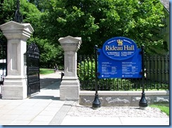 6403 Ottawa 1 Sussex Dr - Rideau Hall - Main Gate