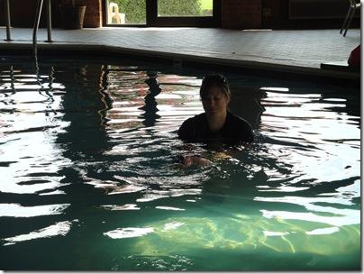 4.  Day 1 self rescue swim lessons