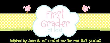 First Grader Header
