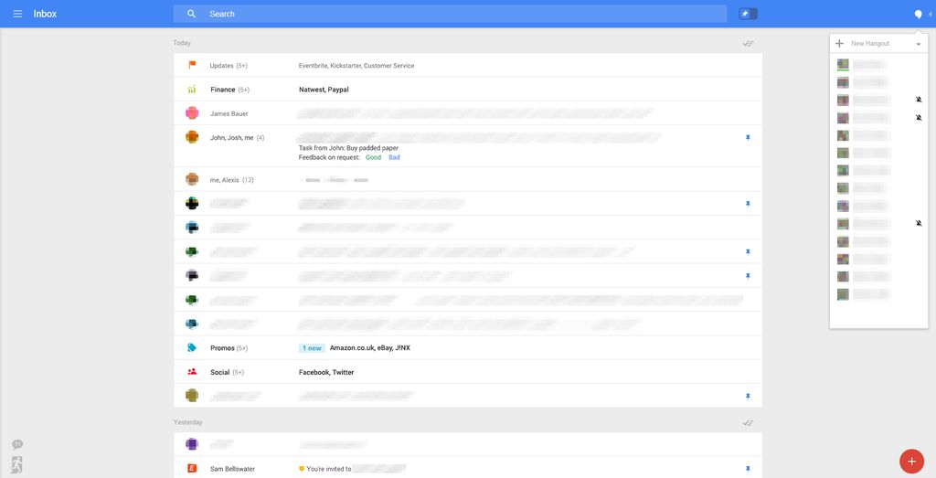 Google Gmail - Nuova interfaccia grafica