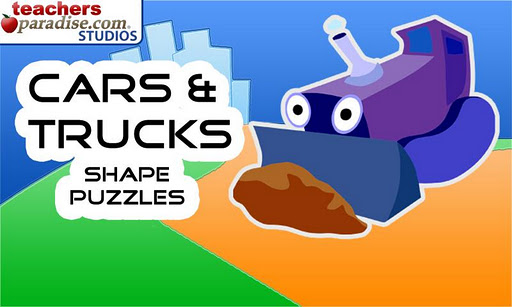 Cars and Trucks Shape Puzzles