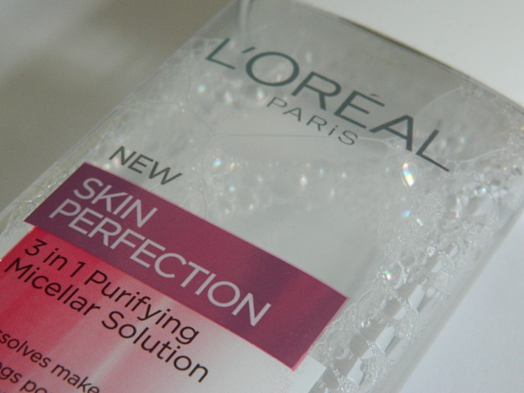 L'Oreal Paris Skin Perfection 3 in 1 Micellar Solution