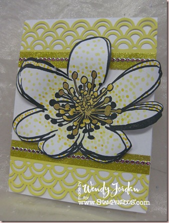 Stampendous-CopicWater-Lily