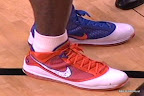 nike air max lebron 7 pe hardwood orange 1 01 Yet Another Hardwood Classic / New York Knicks Nike LeBron VII