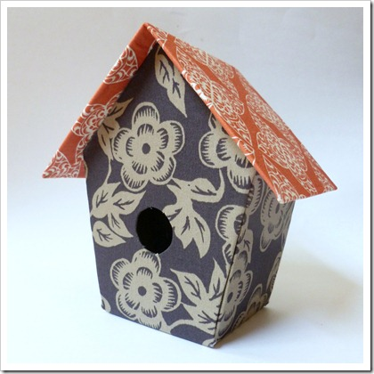birdhouse tutorial