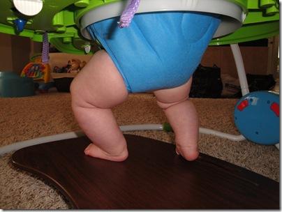 1.  Chunky baby legs