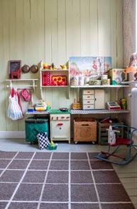 Barnkammare efter ombyggnad. Foto: Erika Åberg