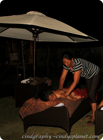 Nusa Lembongan Massage