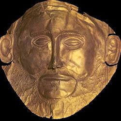 18.- Máscara de Agamenón. Micenas