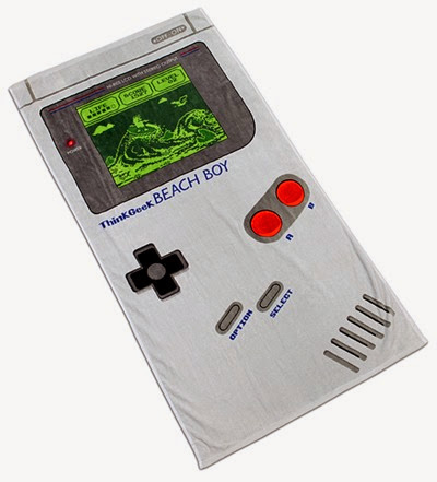 Gameboy Beach Towel from ThinkGeek