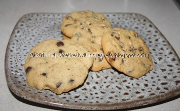 Microwave  vs Convectrion Cookies baked - dough chilled2