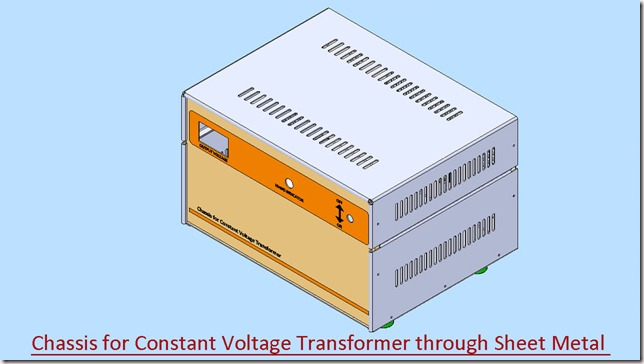 Chassis for Constant Voltage Transformer_1