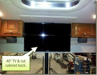 New TV Install