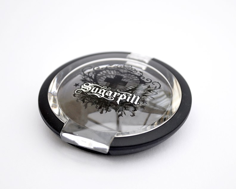 sugarpill bulletproof eyeshadow review matte black