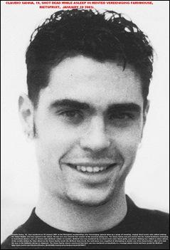 Sanna Claudio 19 murdered on John McNicol Rietspruit farm Vereeniging Jan 10 2001